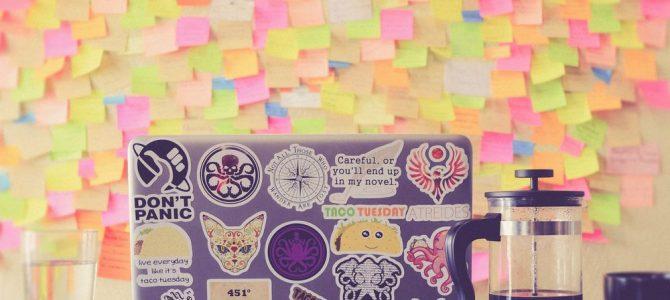 Udfold kreativiteten med stickers